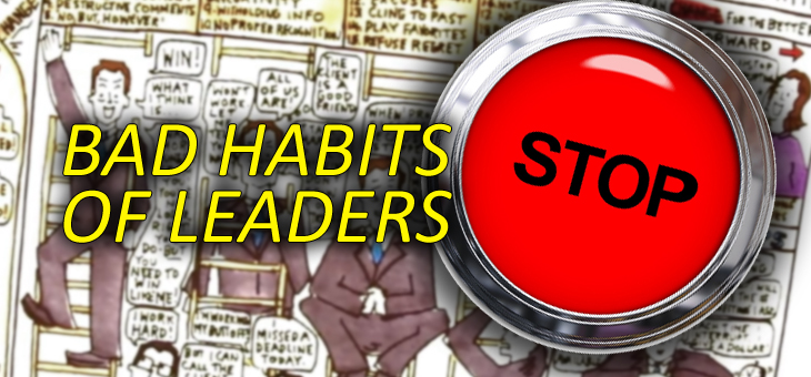 20 Bad Habits of Leaders (Test Yourself)
