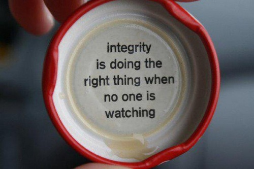 Infographic Ideas infographic definition of integrity : 60-Second Integrity Test | The Leadership Hub