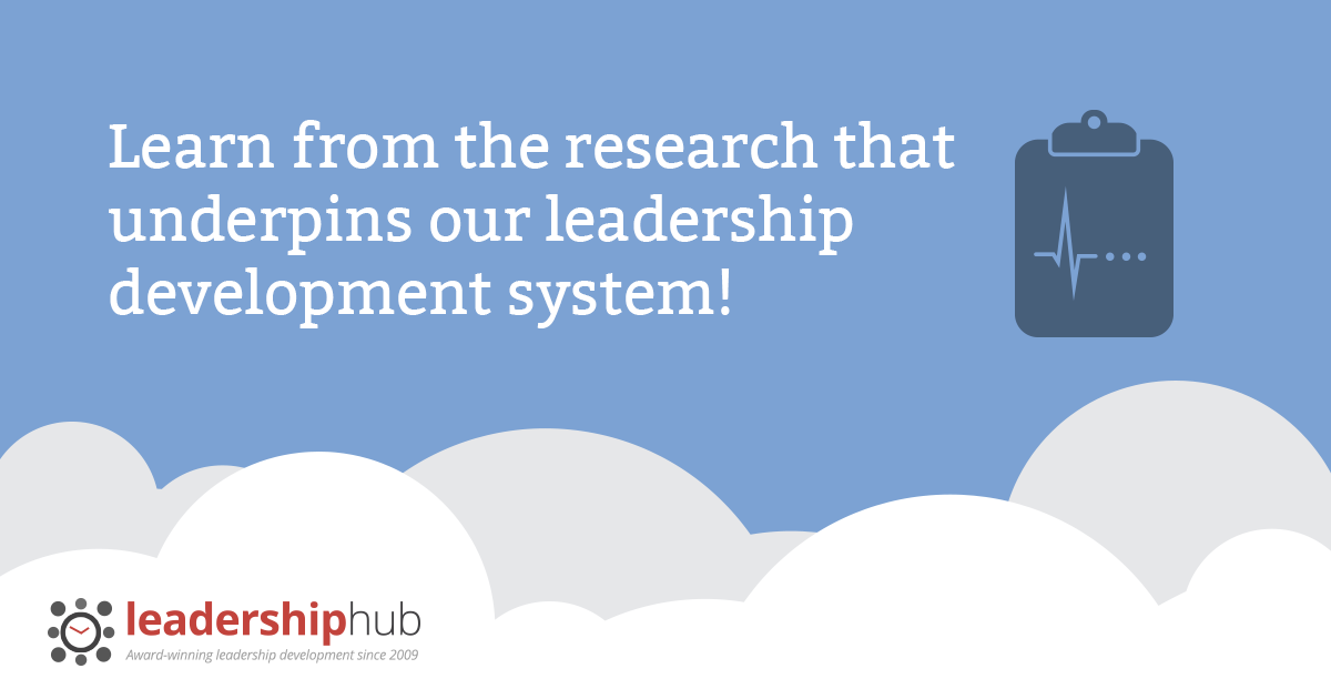 Learn from the research that underpins our leadership development system!