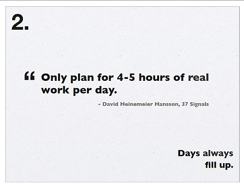Time Management: Slide 1