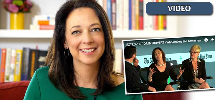 EXTROVERT OR INTROVERT - Who makes the better leader? (2-minute clip from Susan Cain)
