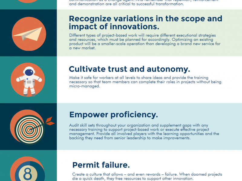 10 Critical Steps to Creating a Culture of Innovation